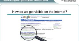Search Engine Optimization and Training